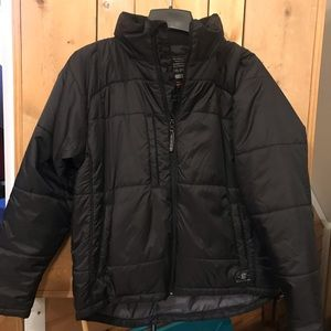 EASTON jacket w/opt hood. YL, BRAND NEW CONDITION!